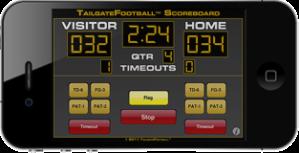 Scoreboard App